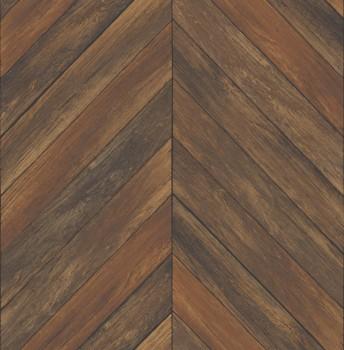 Restored 23-024007 Rasch Textil Holz Tapete Muster Vlies braun