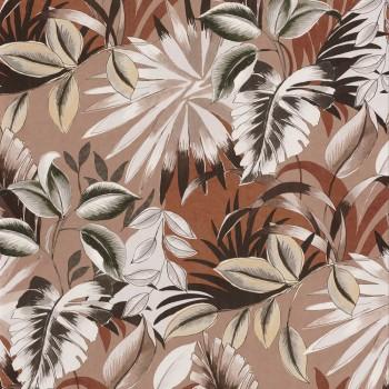 Tapete Blumen rose rot 48-74260456 Casamance - Rio Madeira