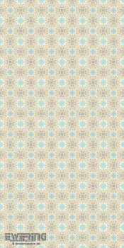 Rasch Textil Cabana 23-158605 Wandbild Fliesen-Optik Mosaik grün