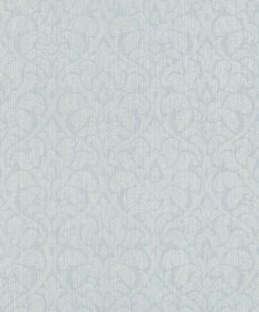Rasch Textil Velluto 23-075044 Textiltapete blau Wohnzimmer Ornamente