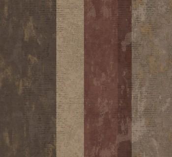 Rasch Textil Ambrosia 23-107638 Vliestapete ziegelrot Streifen