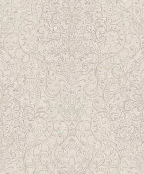 Grandeco Origine 37-OR3306 non-woven wallpaper flowers bright-grey glitter