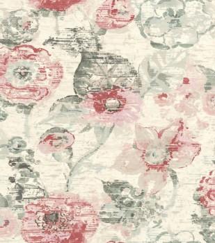 Rasch Lucy in the Sky 7-803723 Vliestapete beige Blumen