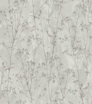Rasch Ylvie 7-802023 taupe Strauch Blumen Wohnzimmer Vlies Tapete