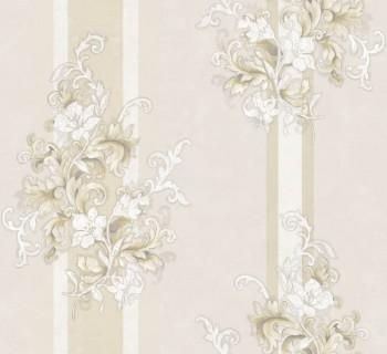 Rasch Textil Ambrosia 23-104921 Vliestapete beige Barock Blumen