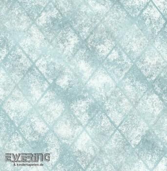 Rasch Textil Reclaimed 23-022328 türkis glänzend Vliestapete
