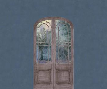 Mural Dark Blue Door Nature Tenue de Ville ODE 62-ODED191315