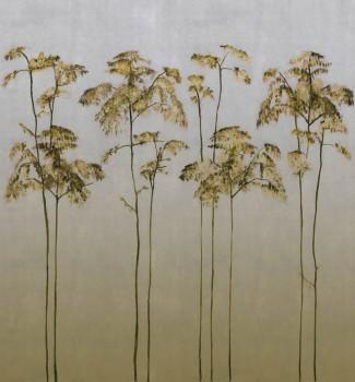 Bäume Wandbild Senf-Gelb Matt Tenue de Ville ODE 62-ODED191108