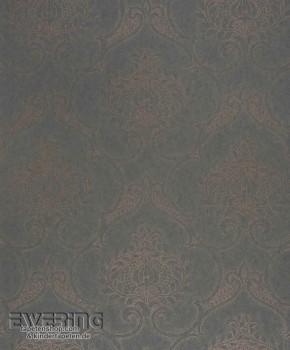 36-MDG26463223 Casadeco - Midnight 3 Texdecor Ornament grau-braun